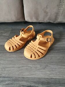 Baby Toddler Jelly Sandals Tan