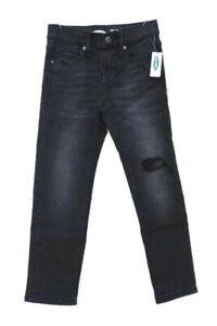Old Navy Black Kids Boys Karate Slim Built In Flex Denim Jeans Size 6