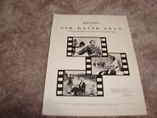 SIR DAVID LEAN ad American Film Institute Life Achievement, Lawrence of Arabia
