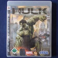 PS3 - Playstation ► Der unglaubliche Hulk - Das offizielle Videospiel ◄ TOP|RAR