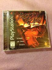 Bloody Roar (Sony PlayStation 1, 1998) Factory Sealed
