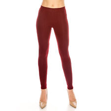 Women Skinny Slim Jeggings Pants Colorful Cotton Blend Solid Stretch Soft Denim