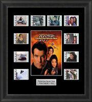 James Bond Tomorrow Never Dies Framed 35mm Film Cell Memorabilia Filmcells Movie