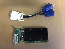 NVIDIA Quadro NVS 300 Niedrige Bauform 512MB 2x VGA PCIe X16 mit Y - Kabel