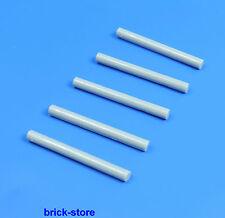 LEGO®  Stab hellgrau / Laserschwert / Verbinder / 5 Stück