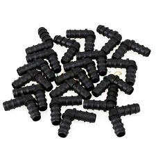 20pcs 16mm Barbed Drip Elbow Connector Agricultural Garden Irrigation Fittings