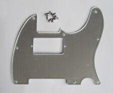 Silver Mirror Tele Telecaster Style Humbucker Scratch Plate Pickguard