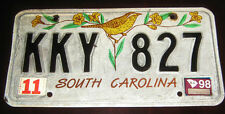 "Targa Americana/American Plate "" SOUTH CAROLINA USA "" Originale 1998"