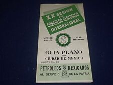 1956 AUG-SEPT PLANNING GUIDE OF MEXICO CITY - 20TH SESSION - SPANISH - J 1194