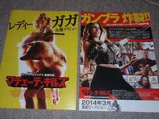 MACHETE KILLS Japan RARE flyer poster LADY GAGA Sofía Vergara Roberto Rodriguez