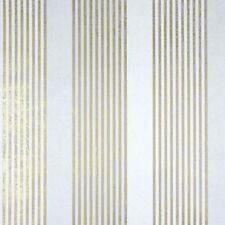 La Veneziana 2 Marburg Tapete 53105 Streifen 4,79 €/m² weiß/gold Vliestapete