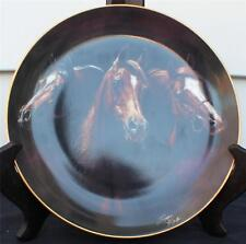 1993 Danbury Mint Porcelain Noble and Free Series Entering The Light Décor Plate