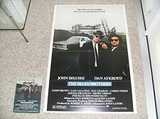 BLUES BROTHERS Movie Poster ORIGINAL 1980 mounted foam board FREE Ship