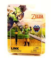 World of Nintendo Legend of Zelda LINK With SWORD & SHIELD Action Figure Jakks