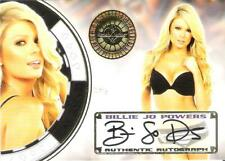 2014 Benchwarmer Sin City Authentic Autograph Card Billie Jo Powers