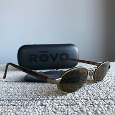 Revo Sunglasses 1130 010/61 49-21-135 Polarized Italy W/ Case