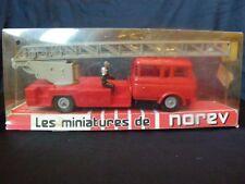 norev 1/43 camion pompiers berliet GBK 18