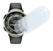 Suunto Vector Khaki Smart Watch, 6x Transparent ULTRA Clear Screen Protector