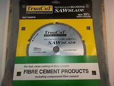 FIBRE CEMENT DiamondSAW BLADE-Cuts Hardie Prods-235mm