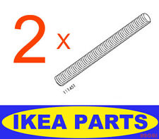 2 Pcs IKEA Dual End Screw 111451 FITS HEMNES BED FRAME Bolt FURNITURE Parts