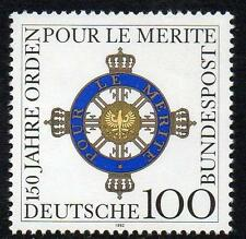 """GERMANY MNH 1992 SG2460 150th Anniversary of the Order """"Pour le Mérite"""""""
