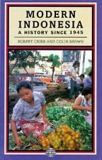 Modern Indonesia: A History Since 1945 (Postwar World)-ExLibrary