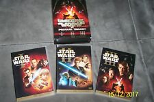 STAR WARS   (released in Poland - EUROPEAN PAL SYSTEM) - 6 PARTS !!