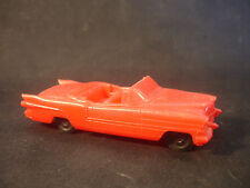 Old Vintage Plastic Car With Black Wheels Toy Car Made In Aurora Ill