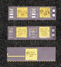 Original DEC F11 F-11 Chipset 3-Piece CPU Set For PDP-11 -- FREE Shipping Incl.