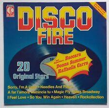 LP Various – Disco Fire 1977 Baccara, Lake, Heavy Metal Kids, Space, Smokie
