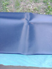 """Fabric Remnant Navy Faux Leather 22 x 28"""""""