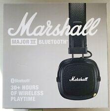 Marshall Major III 3, Casque Noir Sans Fil  Bluetooth