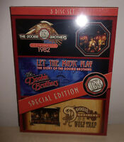 3 DVD DOOBIE BROTHERS - LIVE AT GREEK THEATRE / LET THE MUSIC - NUOVO NEW