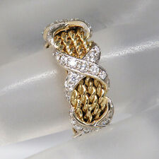 Ring mit 2,10ct F/G - VVS/VS Brillant in 750/18K Weiß-/Gelbgold