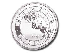 Zodiac Horoscope | Aries | 1 oz .999 Silver BU Round USA Made Bullion Coin