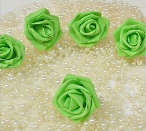 Wholesale 100-500 PCS 6cm Not Fade Bubbles Roses Flowers DIY wedding decoration