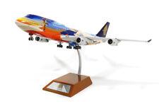 JFox JF-747-4-003 Singapore Airlines B747-4 Tropical 9V-SPK Diecast 1/200 Model