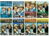 Simon & Simon Complete Series Seasons 1-8 DVD Collection 41-Disc Box Set Sealed