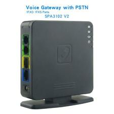 Free shipping Brand new Unlocked SPA3102 v2 VOIP GATEWAY ROUTER phone adapter