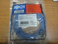 LOT OF 11 TRIPP LITE N201-014-BL CAT-6 Gigabit Snagless Molded Patch Cable 14ft