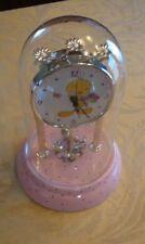 Bouquet of Tweety Bird Anniversary Clock ~ Usable/Works & Good Condition