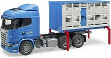 Bruder Scania Cattle Transportation Truck Including 1 Cow 1:16