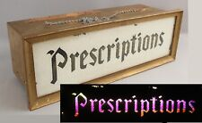 Antique SMITH KLINE FRENCH Drug Store Prescription Rotating Color Light Sign
