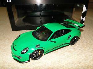 1/18 Minichamps Porsche 911 (991) GT3 RS Viper Green Sealed Diecast 1 of 222