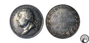 France Louis XVIII Silver Medal, Sciences of Macon