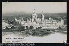 729.-MADRID -ESCORIAL -112 Vista General (Hauser y Menet)