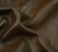 50 sf Brown Shaded Furniture  Upholstery Hide skin Leather   A4DZa