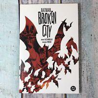 Batman Broken City Hardback By Brian Azzarello Eduardo Risso 2004