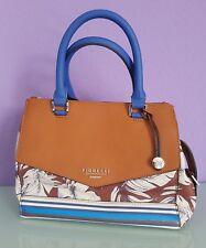 NEU!Fiorelli Tasche Handtasche braun weiß blau