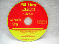 **ALL HITS MAXX PACK KARAOKE CDG DISC AH2008-BRAND NEW ORIGINAL DISC*